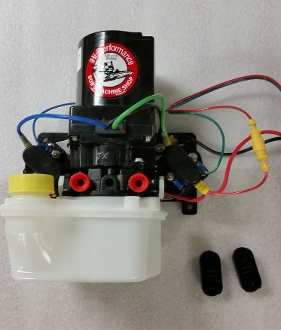 new larger solenoid retro-fit kit with wiring harness