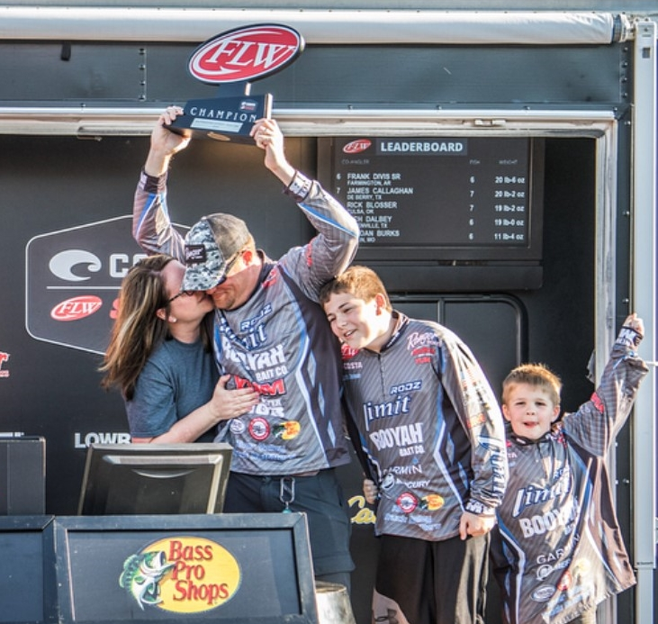Chris Jones FLW Win