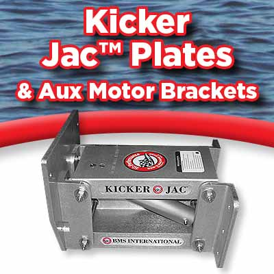 Kicker Jac : Aux motor bracket upto 40 HP