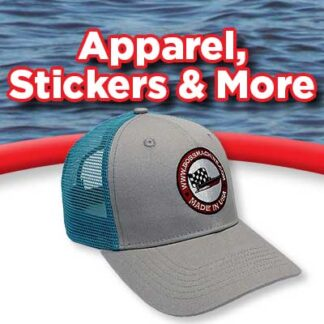 Apparel, Stickers, More