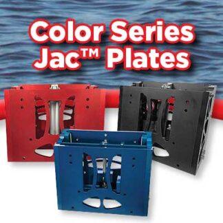 Color Series Jack plates - Powder coat & Hydro graphics