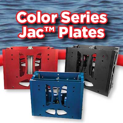 Color Series Jack plates - Powder coat & Hydro graphics