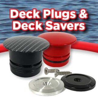 DeckPlugs & DeckSavers - CNC Machined Deck Accessories