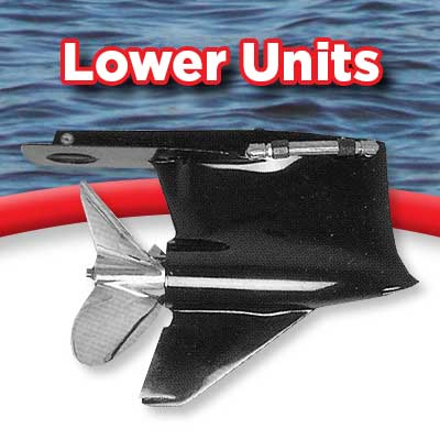 Lower Units - Nose cones, Stabilizer plates, skegs, etc-