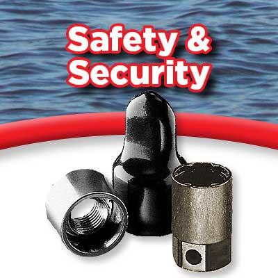 Safety and Security - Prop locks, motor locks, etc