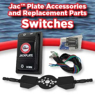 Jack plate & trim switches